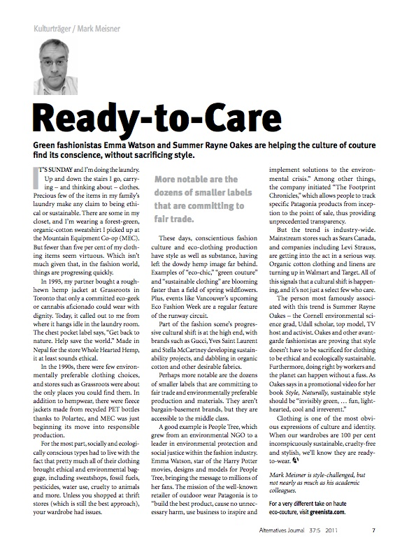 Kulturtrager #8 Ready-to-Care